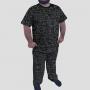 Pijama Camiseta Fórmulas da Física Calça Estampada