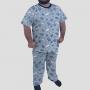 Pijama Camiseta Livros Calça Estampada