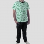 Pijama Camiseta Yoshi Calça Lisa