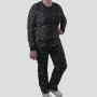 Pijama Manga Longa Fósseis Calça Estampada