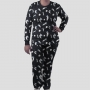 Pijama Manga Longa Gatonautinha Calça Estampada