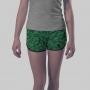 Shorts de Algodão Dinossauros