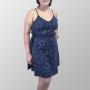 Vestido Alcinha Total Sistema Solar Minimalista