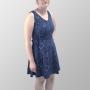 Vestido Regata Total Sistema Solar Minimalista