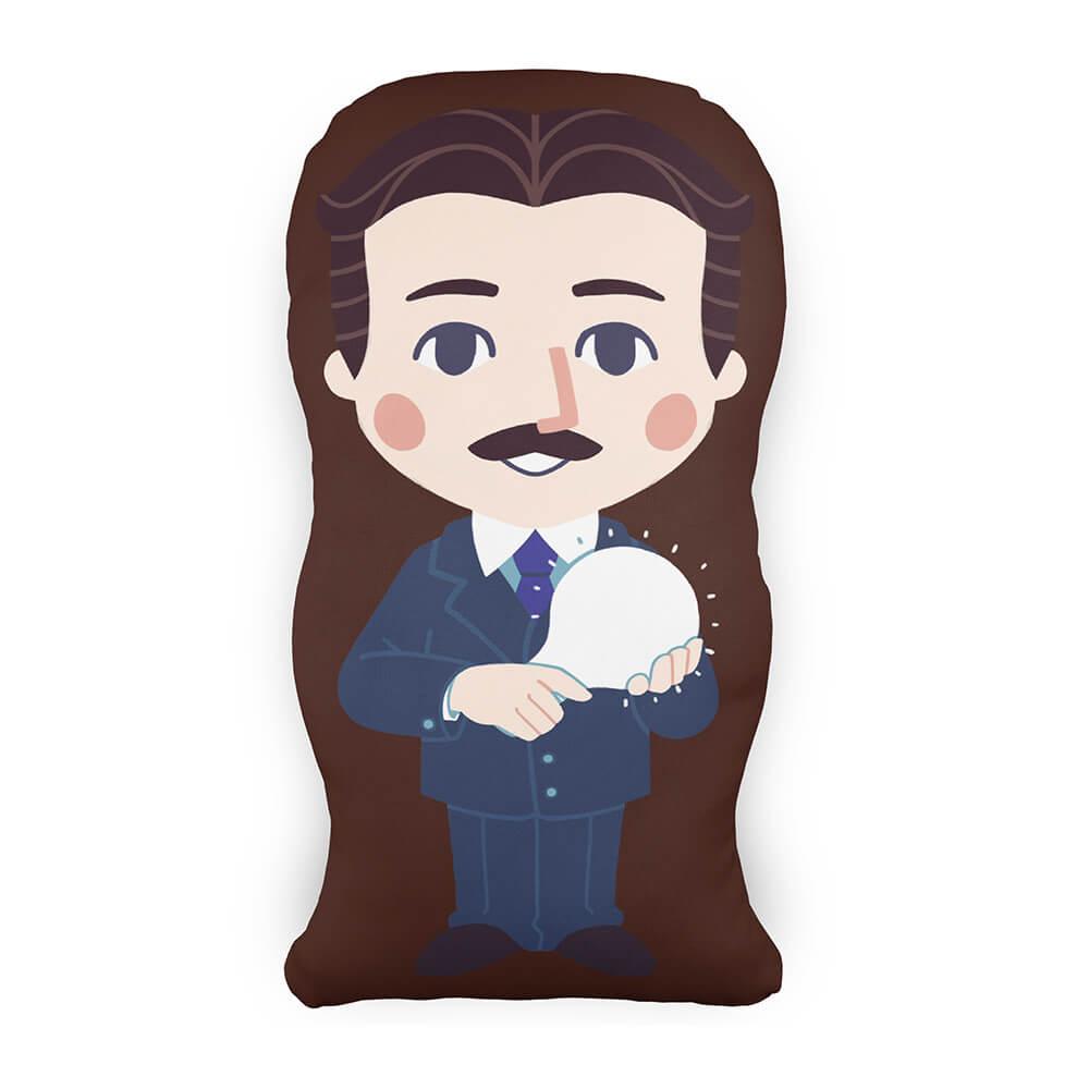 Almofada Personagem Nikola Tesla