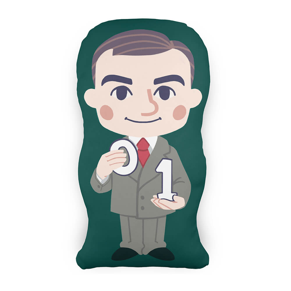 Almofada Personagem Alan Turing