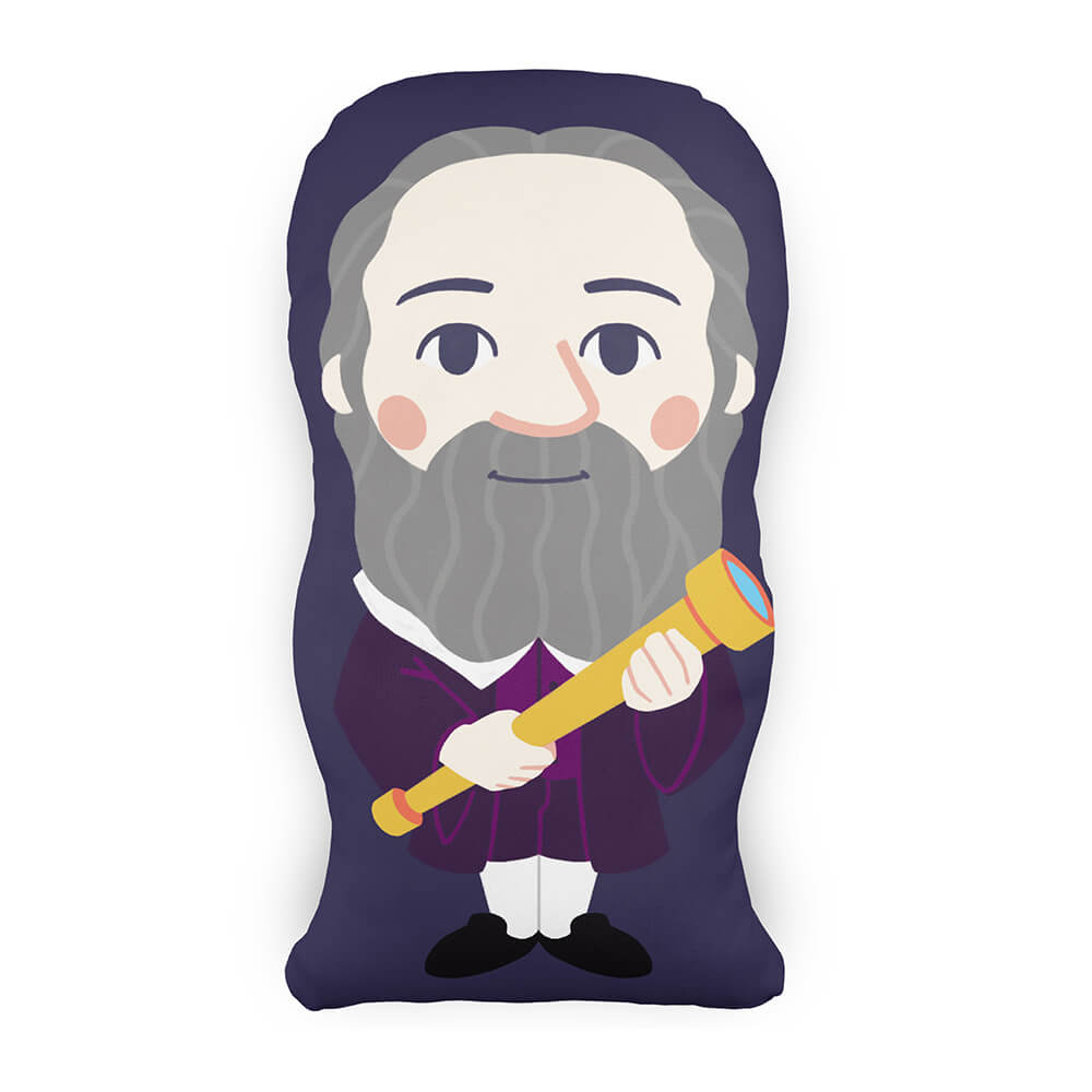 Almofada Personagem Galileu Galilei