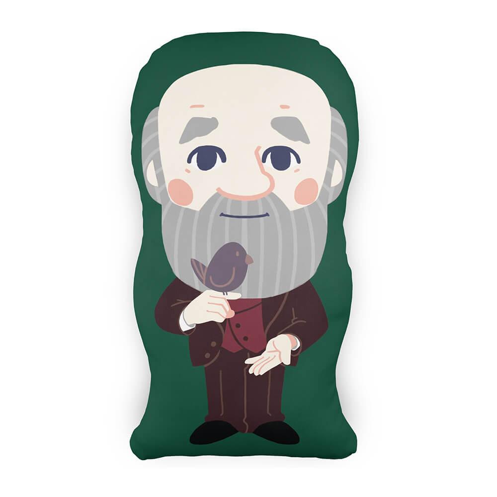 Almofada Personagem Charles Darwin