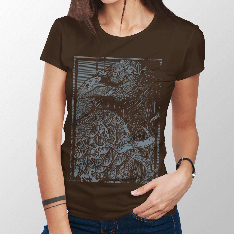 Camiseta Abutre - Feminino