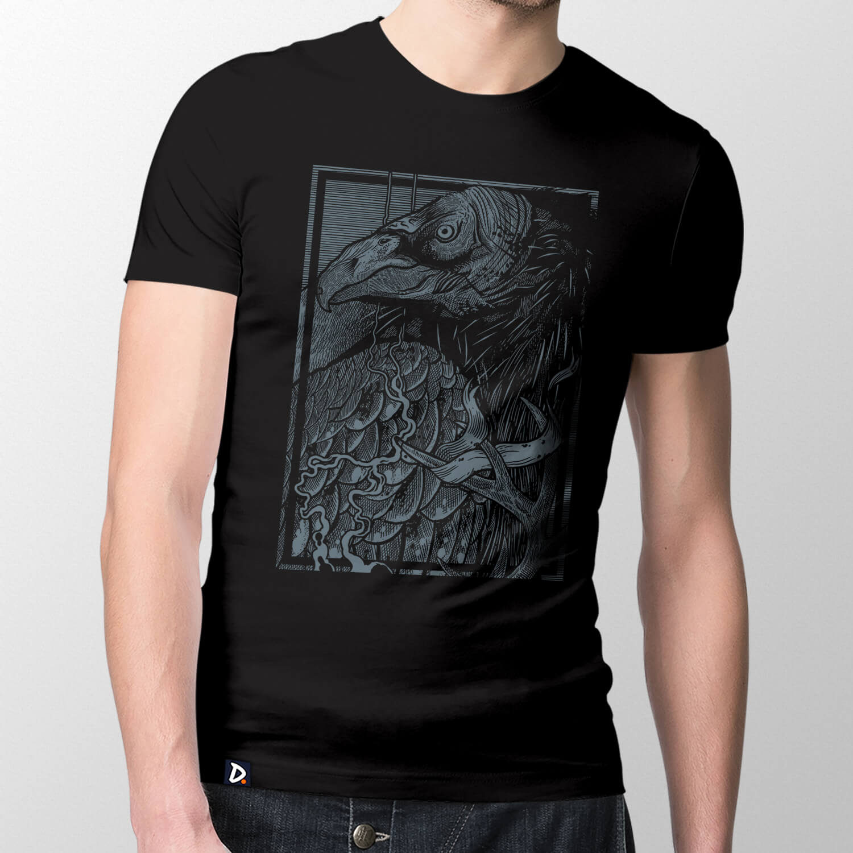 Camiseta Abutre - Masculino