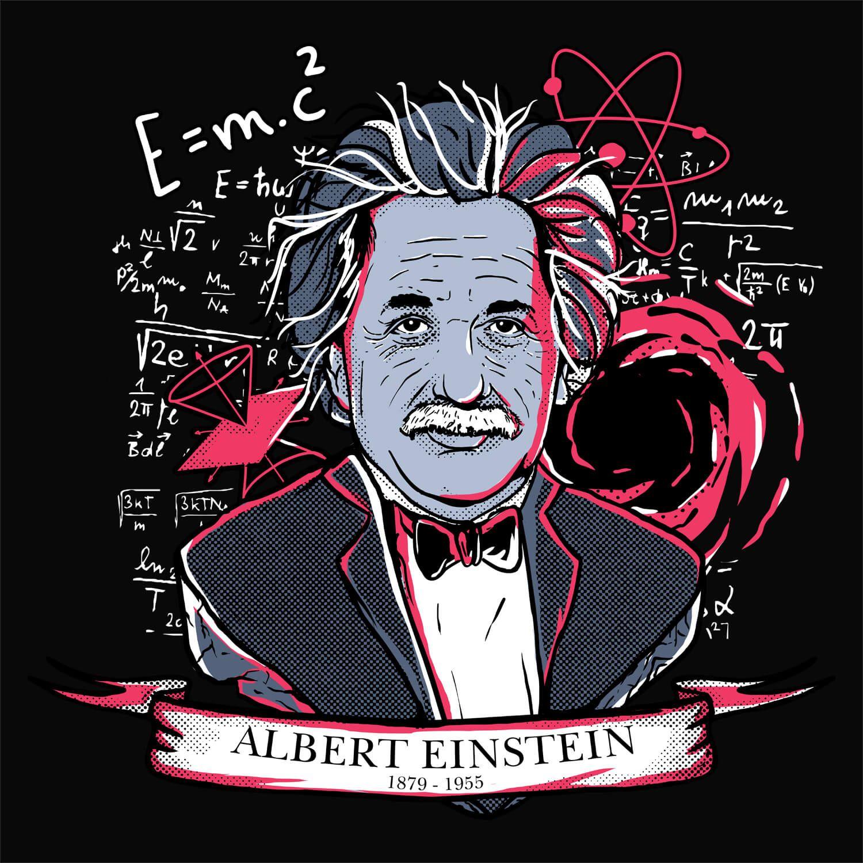 Camiseta Albert Einstein - Feminino