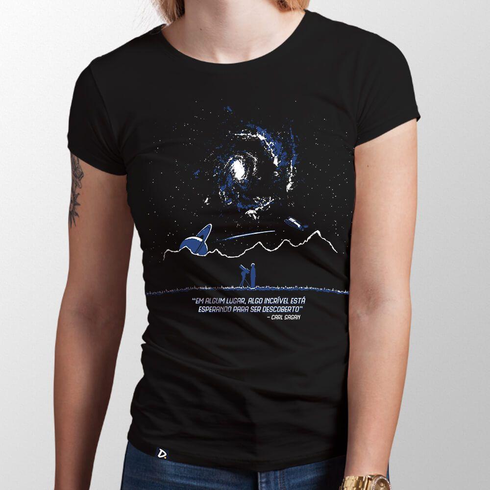 Camiseta Algum Lugar - Feminino