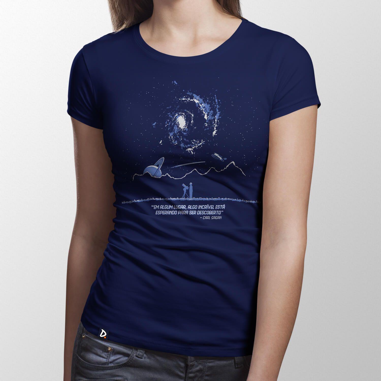 Camiseta Algum Lugar