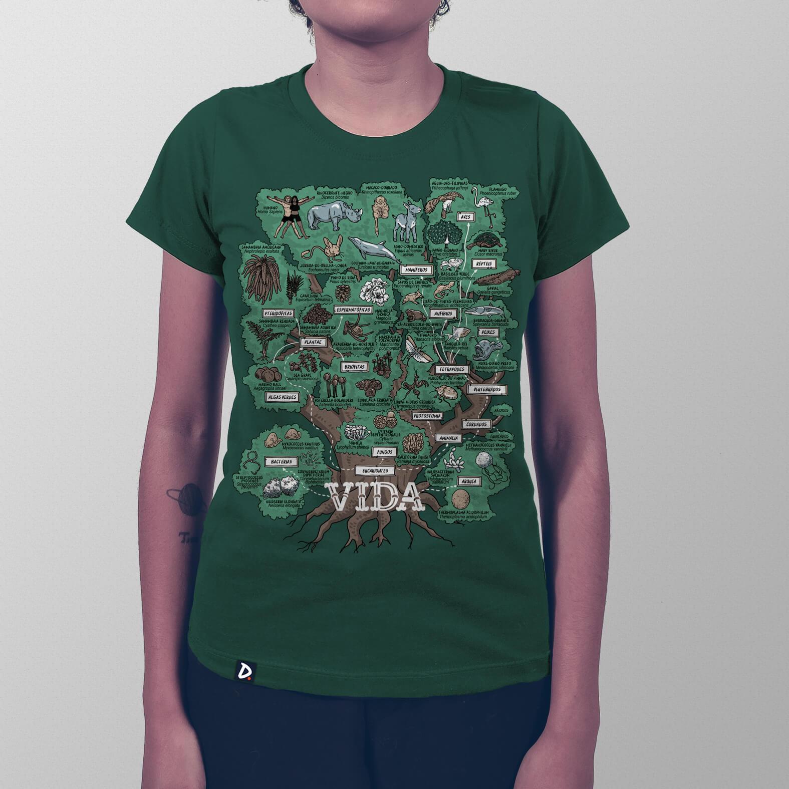 Camiseta Árvore da Vida