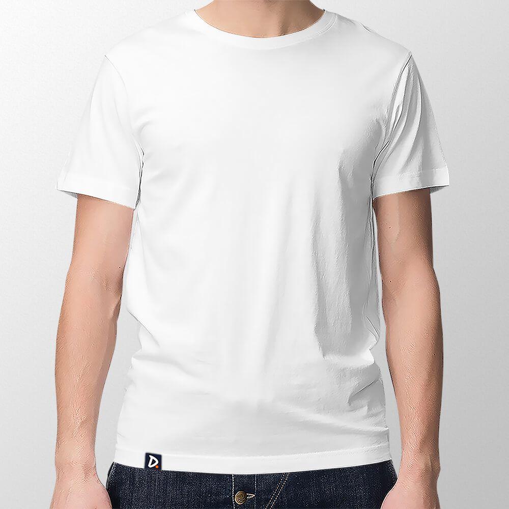 Camiseta Básica Branca - Masculino