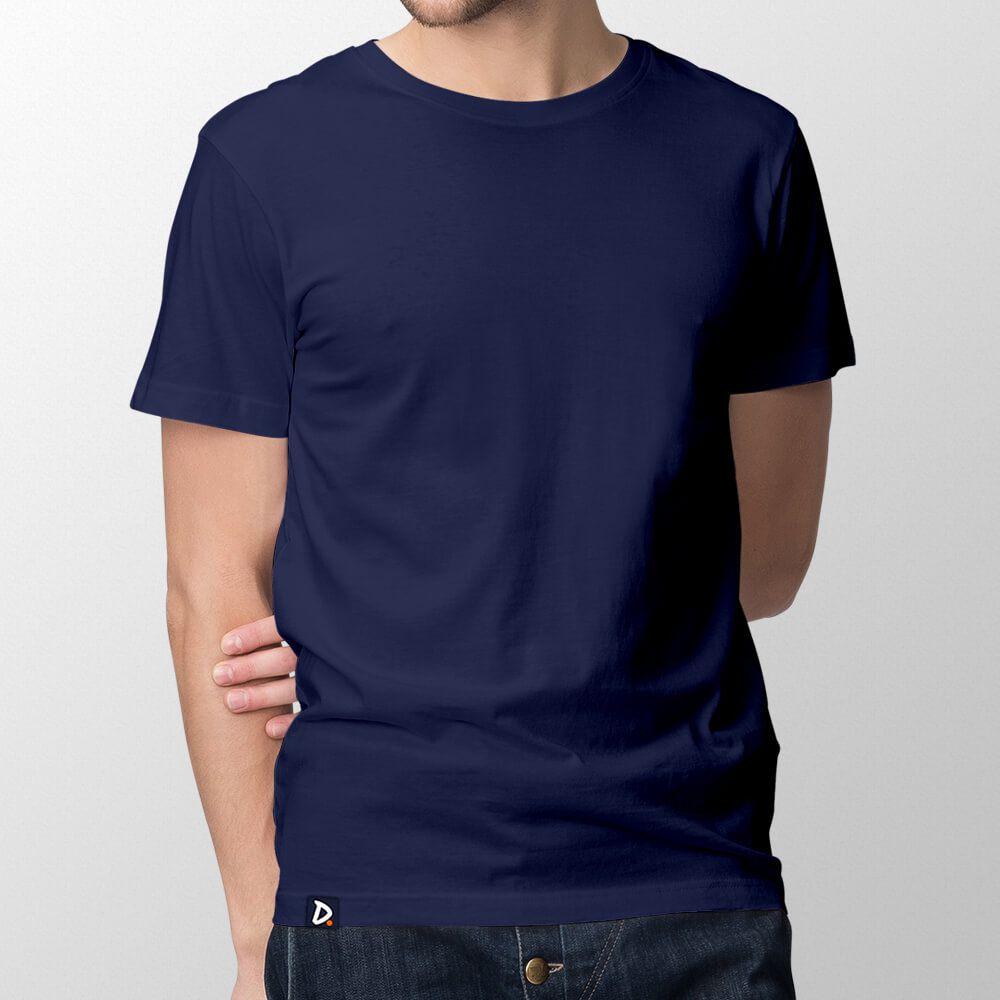 Camiseta Básica Marinho - Masculino