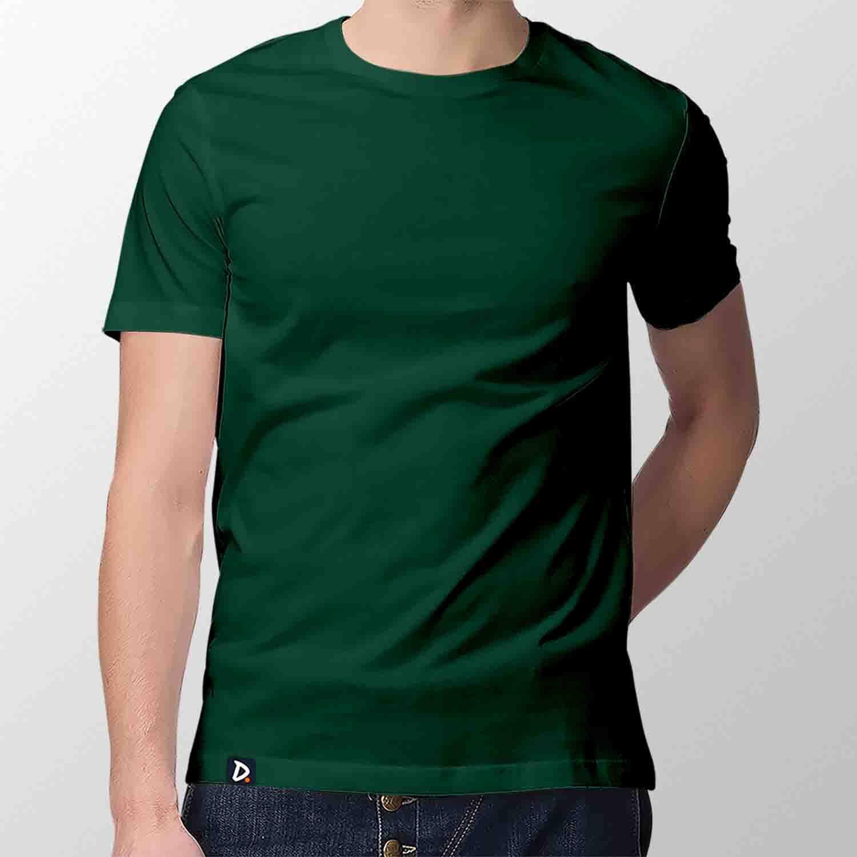 Camiseta Básica Musgo - Masculino