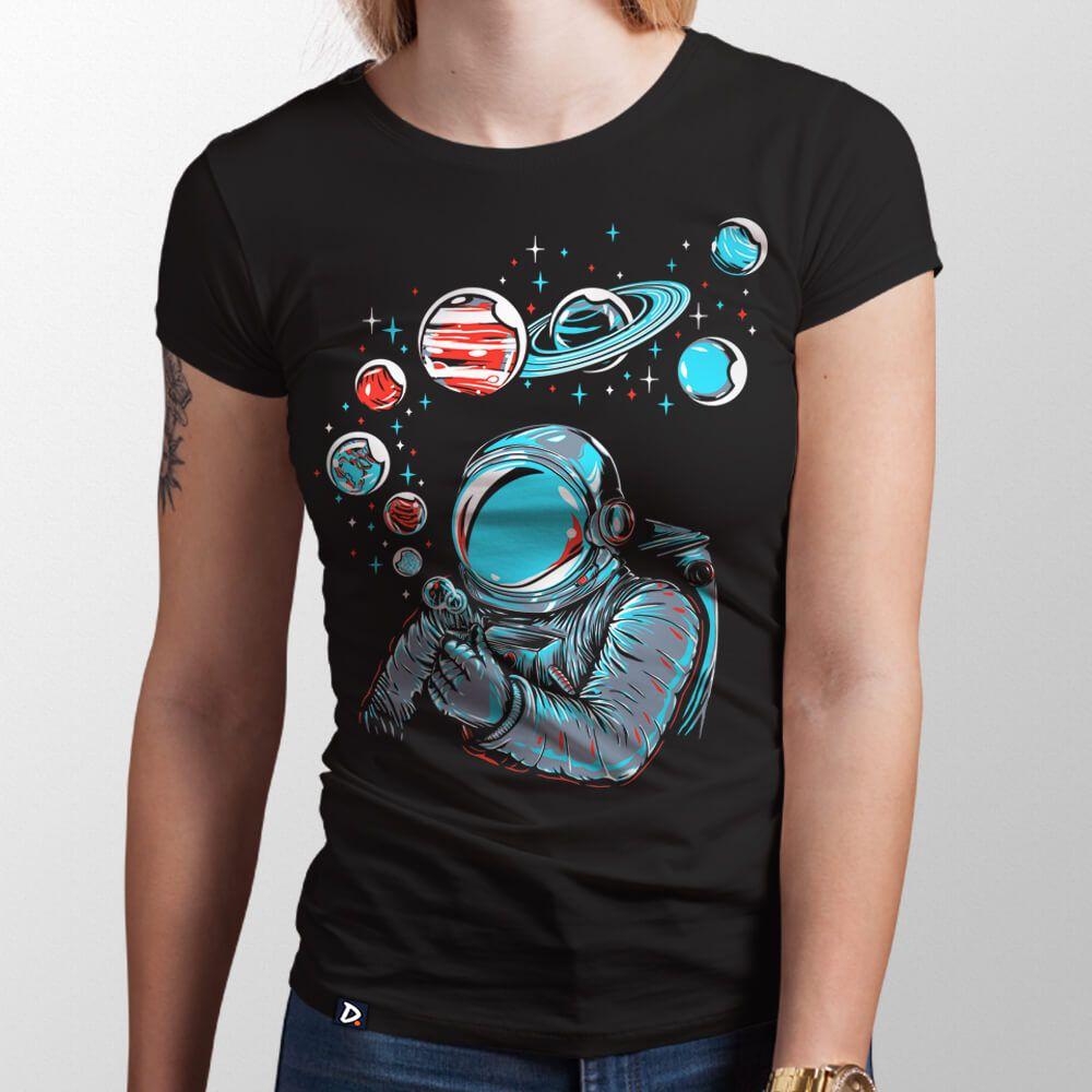 6a74cd81be Camiseta Bolhas de Sabão - Feminino - Doppel Store