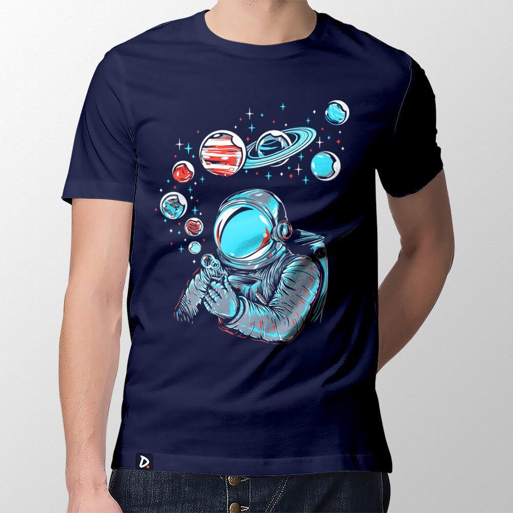 Camiseta Bolhas de Sabão - Masculino