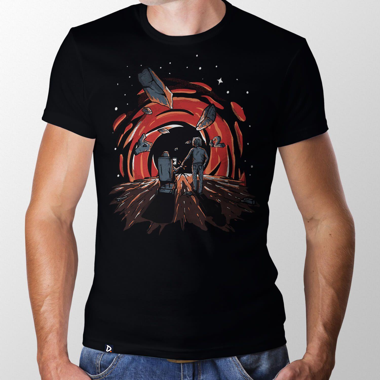 f17f91489b Camiseta Buraco Negro - Masculino - Doppel Store