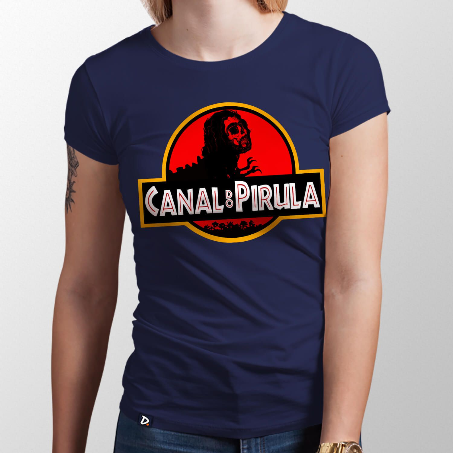 Camiseta Canal do Pirula - Feminino