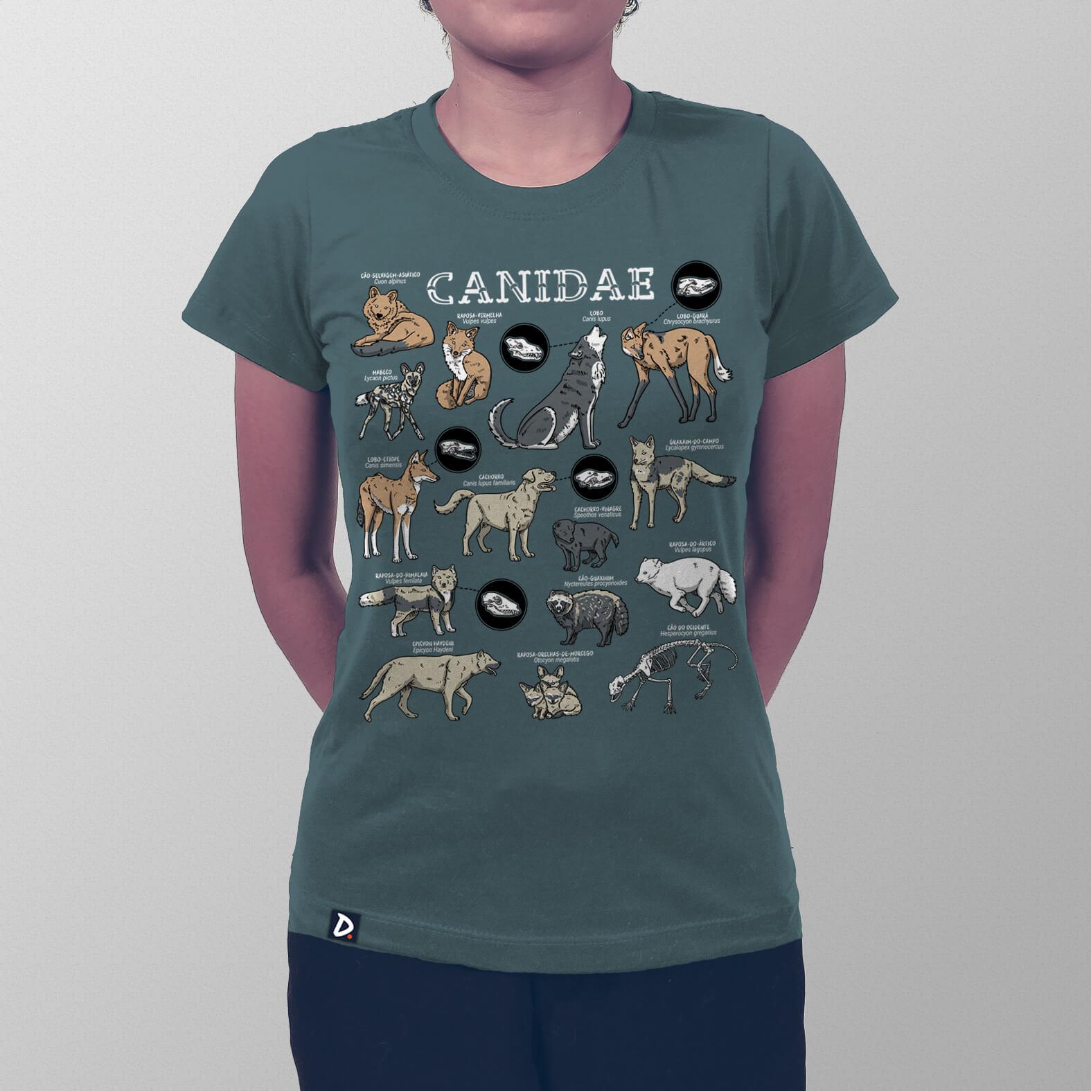 Camiseta Canidae