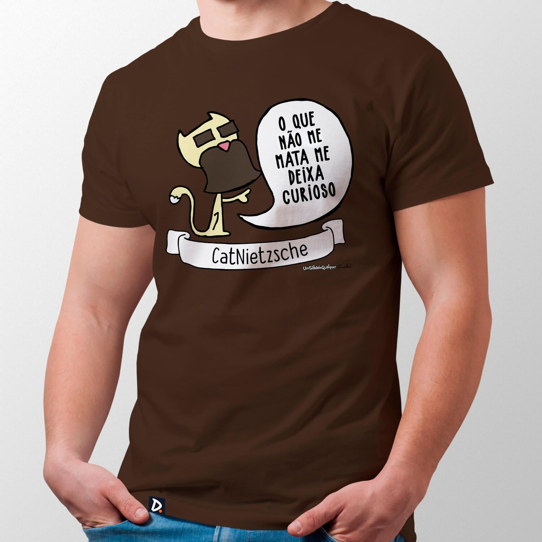 Camiseta CatNietzsche - Masculino
