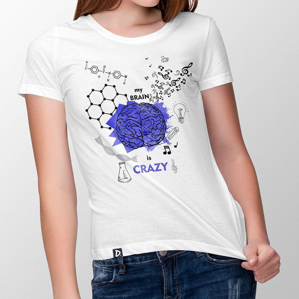 Camiseta Cerebro - Feminino