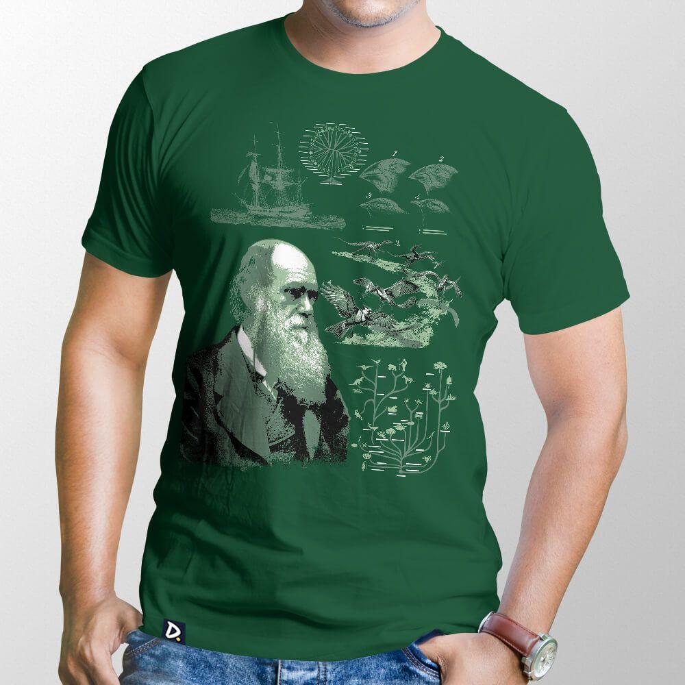 Camiseta Charles Darwin - Masculino