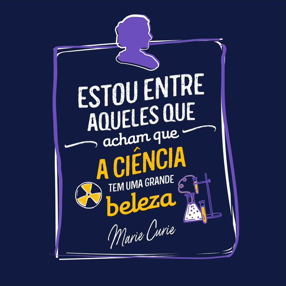 Camiseta Ciência Bela - Masculino