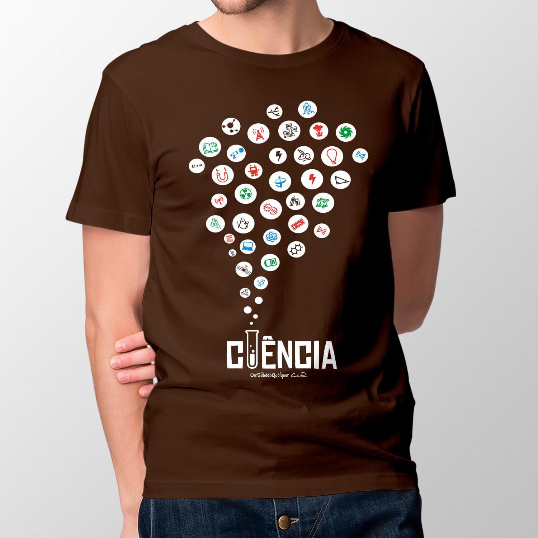 Camiseta Ciência - Masculino