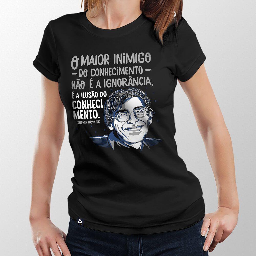 Camiseta Conhecimento - Feminino