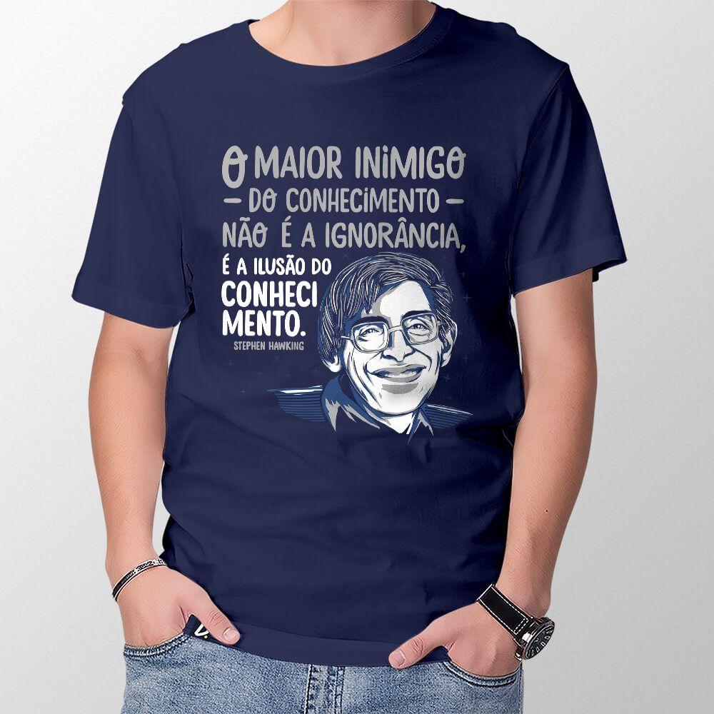 Camiseta Conhecimento - Masculino
