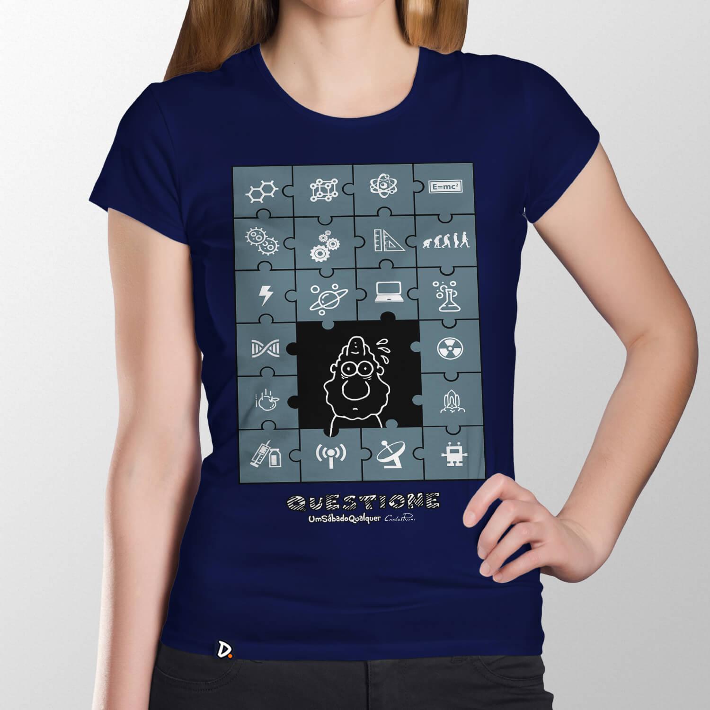 Camiseta Deus das Lacunas