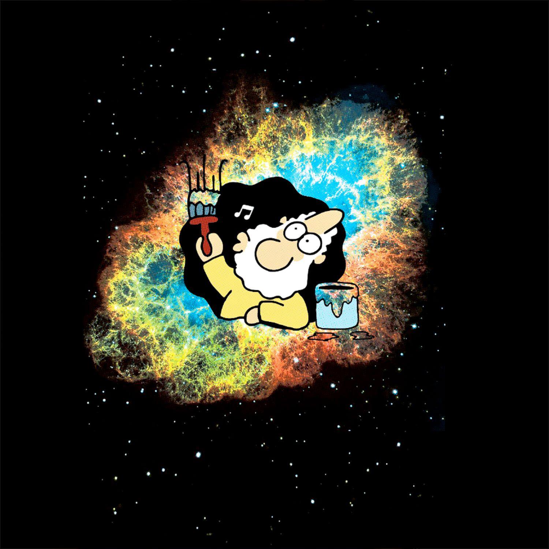 Camiseta Deus Pintando o Universo - Masculino
