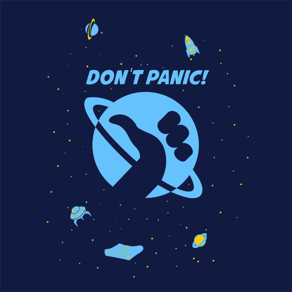 Camiseta Don't Panic - Masculino