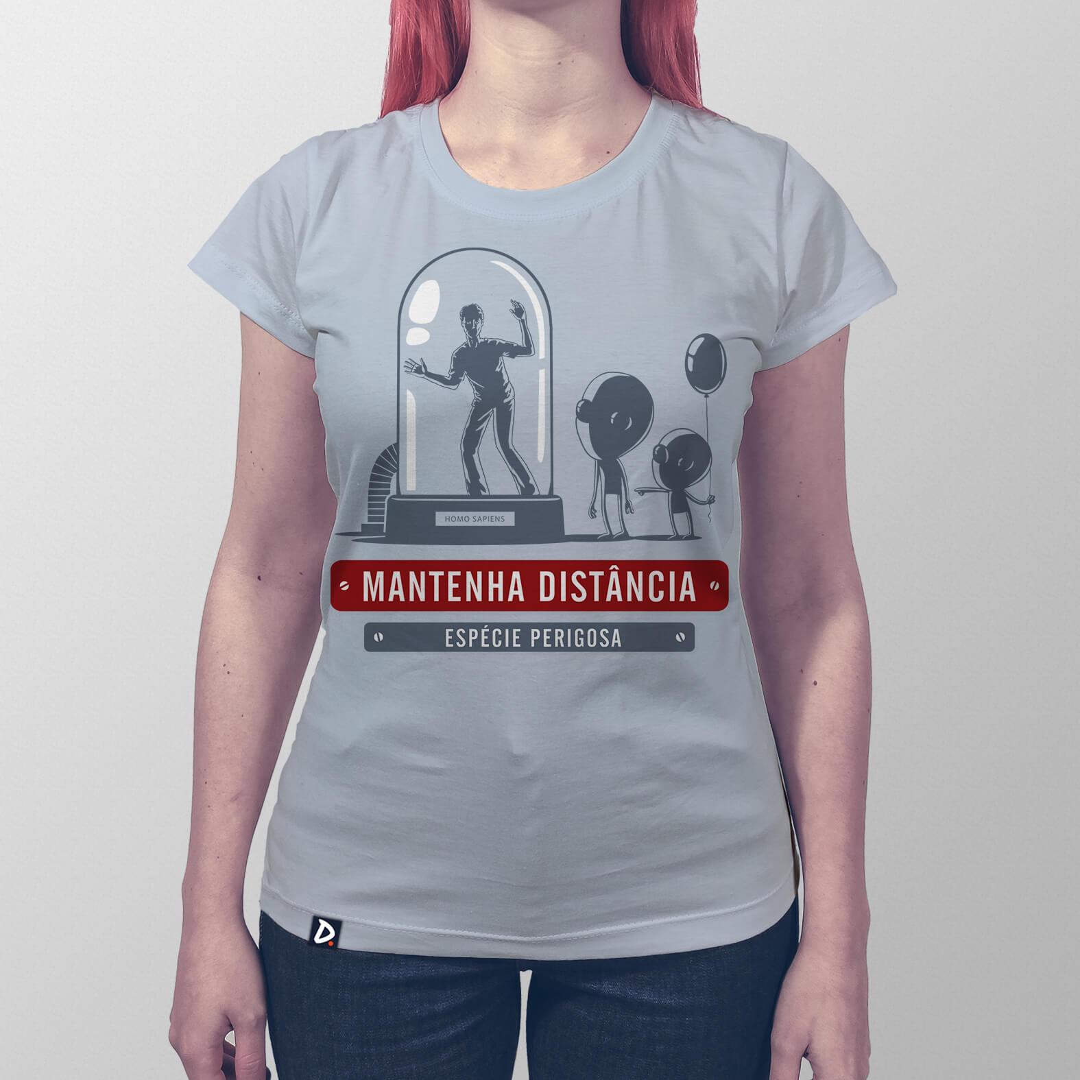 Camiseta Espécie Perigosa