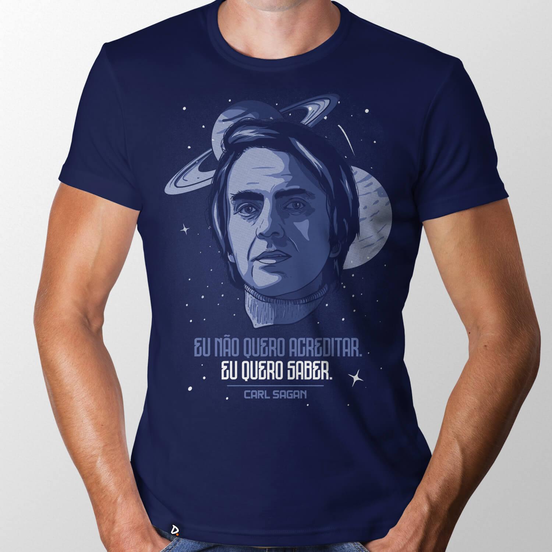 Camiseta Eu Quero Saber