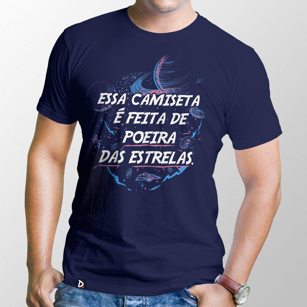 Camiseta Feita de Poeira das Estrelas - Masculino