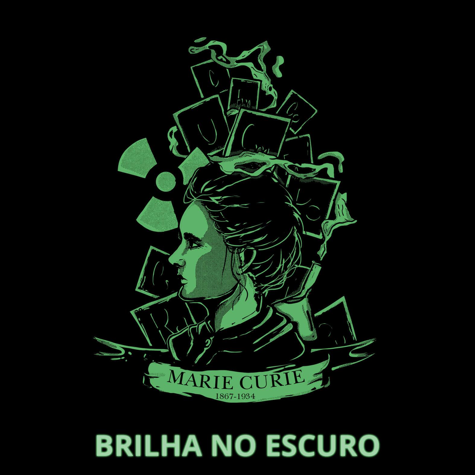 Camiseta Feminina Marie Curie