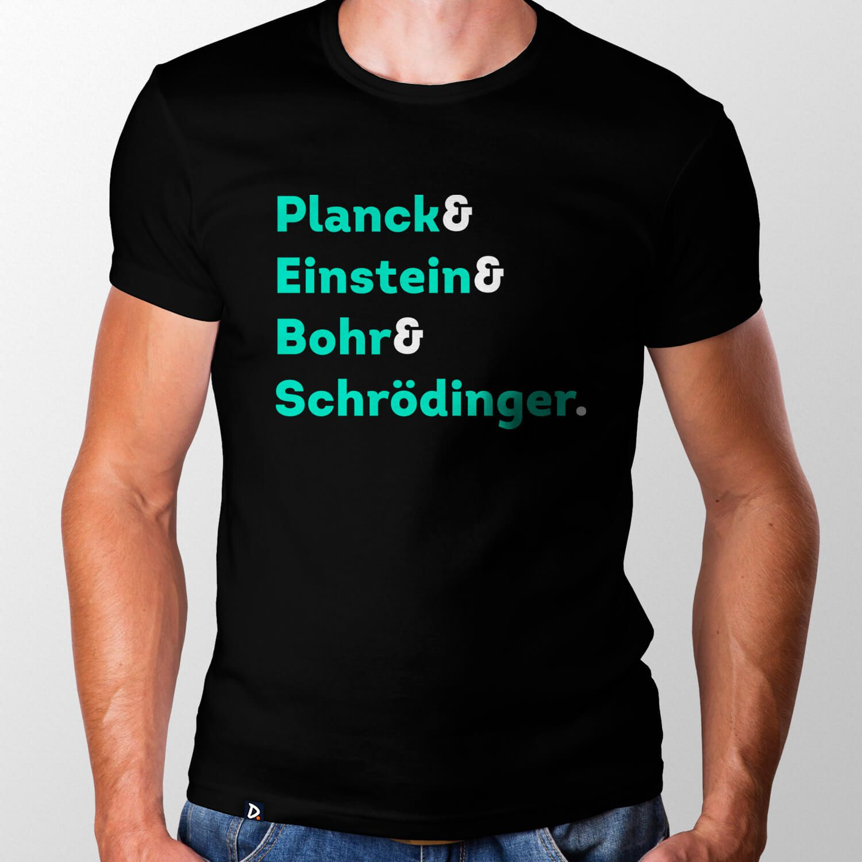 Camiseta Físicos Quanticos