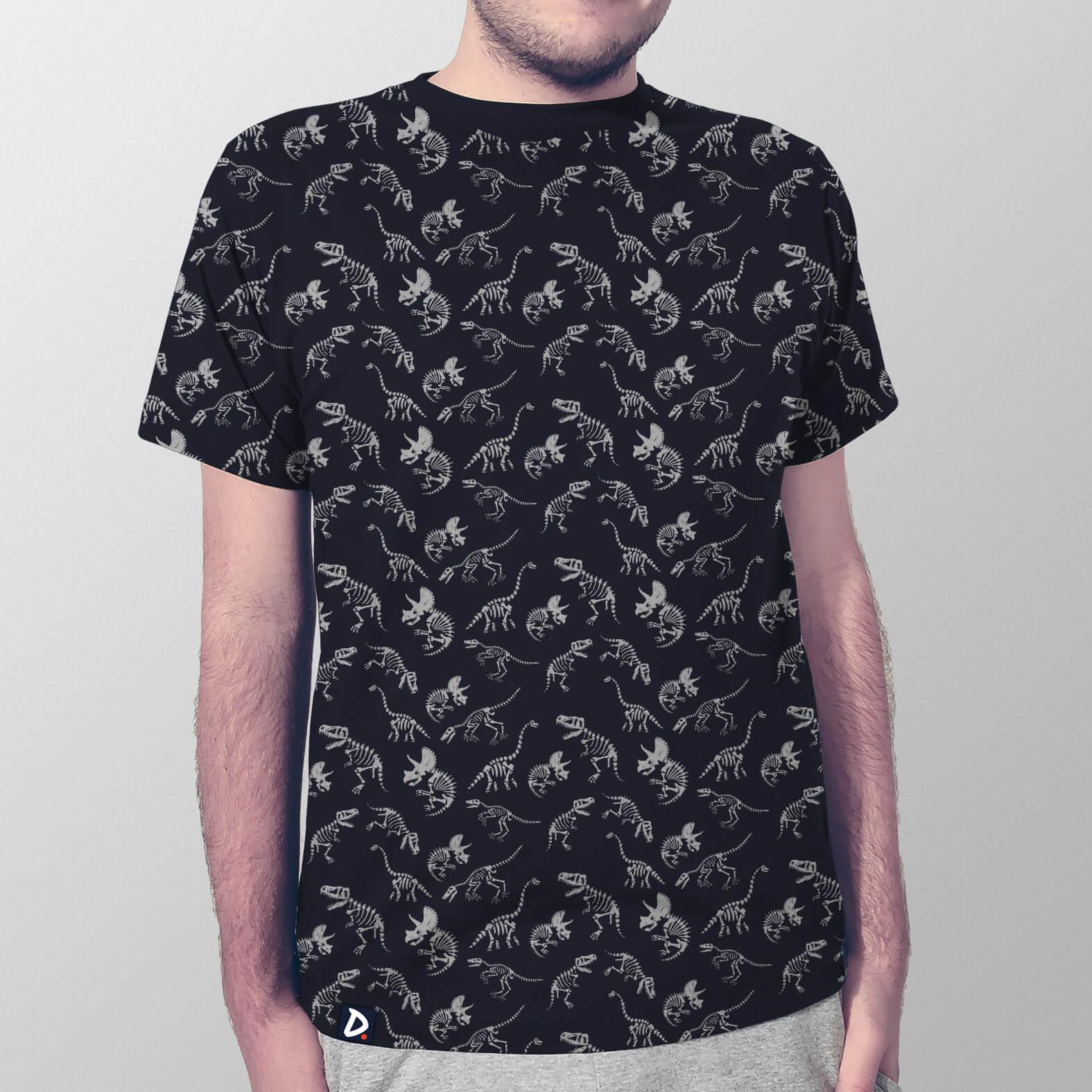 Camiseta Fósseis