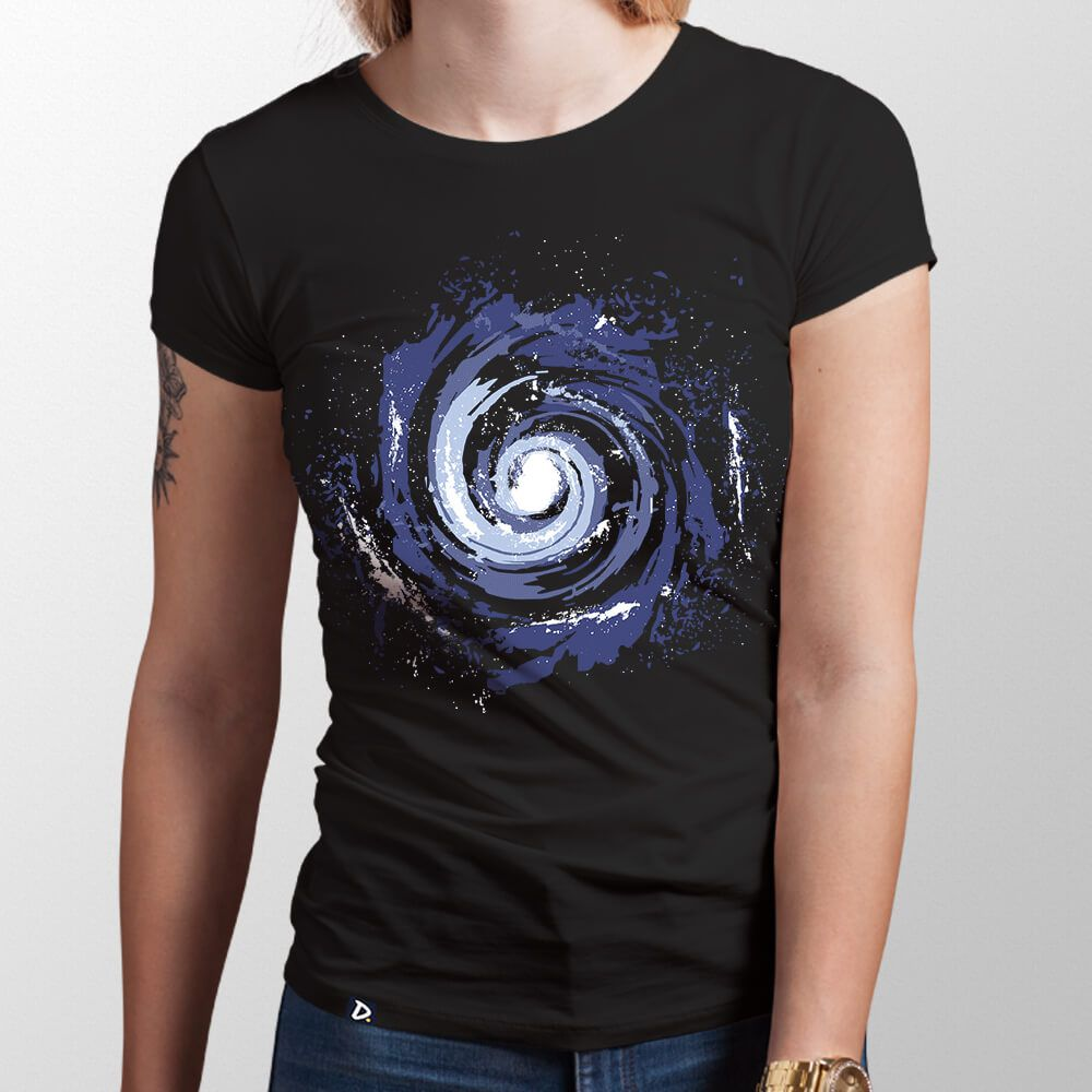 Camiseta Galáxia - Feminino