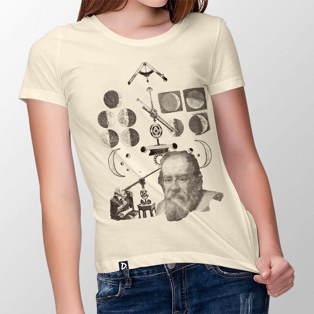 Camiseta Galileu Galilei - Feminino
