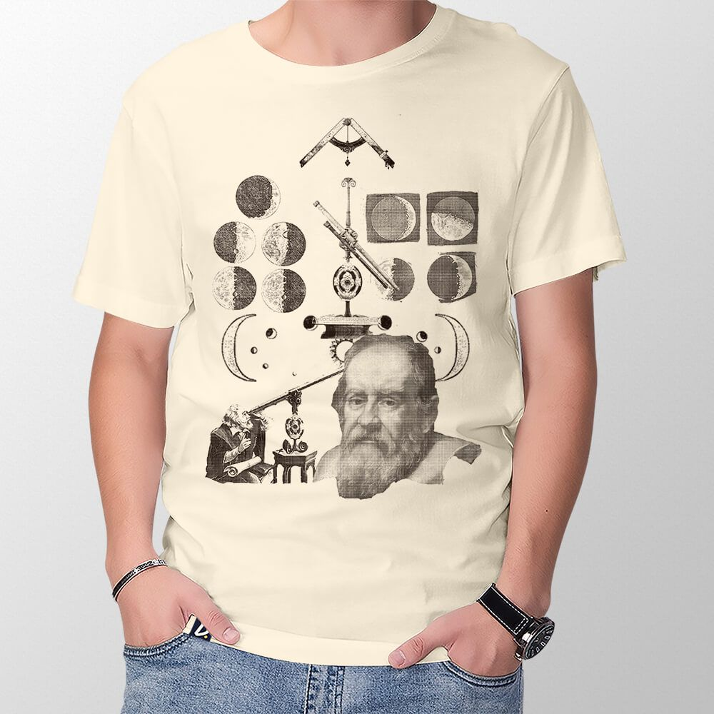 Camiseta Galileu Galilei - Masculino