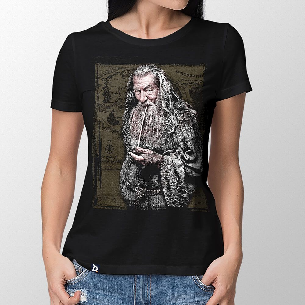 Camiseta Gandalf - Feminino