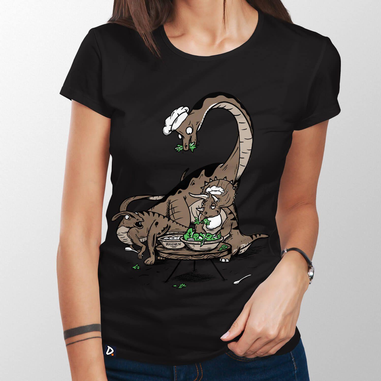 Camiseta Herbívoros - Feminino