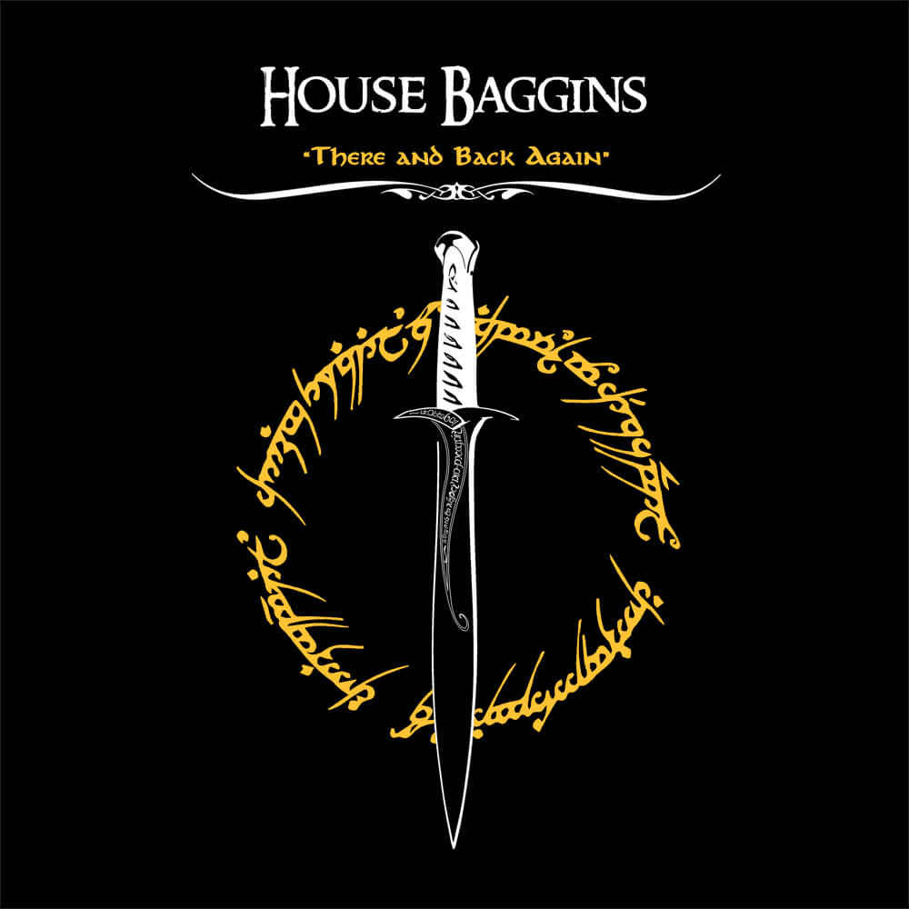 Camiseta House Baggins - Feminino