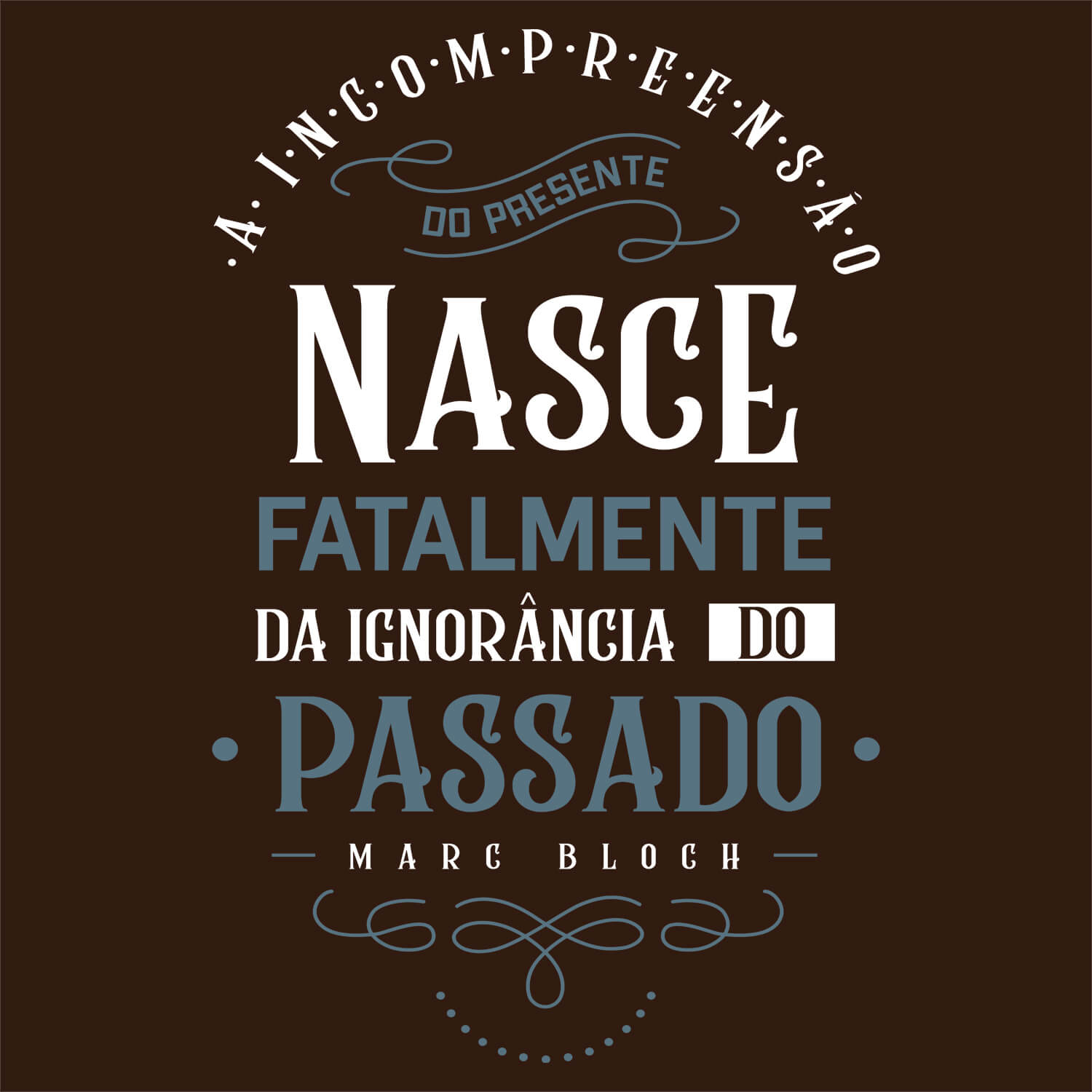 Camiseta Incompreensão - Masculino