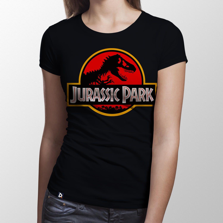 Camiseta Jurassic Park - Feminino